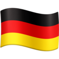 Flag: Germany on Facebook 4.0