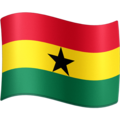 Flag: Ghana on Facebook 4.0