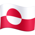 Flag: Greenland on Facebook 4.0
