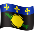 Flag: Guadeloupe on Facebook 4.0