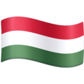 Flag: Hungary on Facebook 4.0