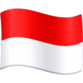 Flag: Indonesia on Facebook 4.0