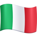 Flag: Italy on Facebook 4.0