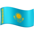 Flag: Kazakhstan on Facebook 4.0