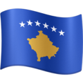Flag: Kosovo on Facebook 4.0