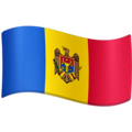 Flag: Moldova on Facebook 4.0