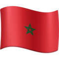 Flag: Morocco on Facebook 4.0