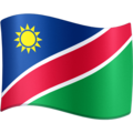 Flag: Namibia on Facebook 4.0