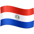 Flag: Paraguay on Facebook 4.0