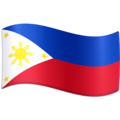 Flag: Philippines on Facebook 4.0