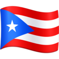 Flag: Puerto Rico on Facebook 4.0