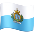 Flag: San Marino on Facebook 4.0