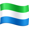 Flag: Sierra Leone on Facebook 4.0