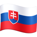 Flag: Slovakia on Facebook 4.0