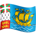 Flag: St. Pierre & Miquelon on Facebook 4.0