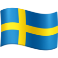 Flag: Sweden on Facebook 4.0