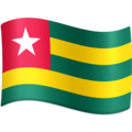 Flag: Togo on Facebook 4.0