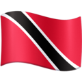 Flag: Trinidad & Tobago on Facebook 4.0