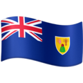 Flag: Turks & Caicos Islands on Facebook 4.0