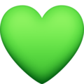 Green Heart on Facebook 4.0