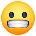 Grimacing Face on Facebook 4.0