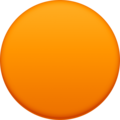 Orange Circle on Facebook 4.0