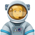 Man Astronaut on Facebook 4.0