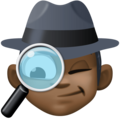 Man Detective: Dark Skin Tone on Facebook 4.0