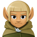 Man Elf: Medium Skin Tone on Facebook 4.0