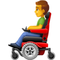 Man in Motorized Wheelchair on Facebook 4.0