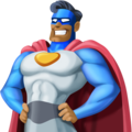 Man Superhero: Medium-Dark Skin Tone on Facebook 4.0