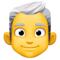 Man: White Hair on Facebook 4.0