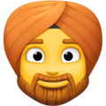 Person Wearing Turban on Facebook 4.0