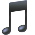 Musical Note on Facebook 4.0