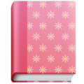 Notebook with Decorative Cover on Facebook 4.0