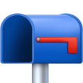 Open Mailbox with Lowered Flag on Facebook 4.0