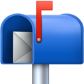 Open Mailbox with Raised Flag on Facebook 4.0