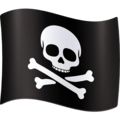 Pirate Flag on Facebook 4.0