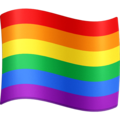Rainbow Flag on Facebook 4.0