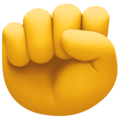 Raised Fist on Facebook 4.0