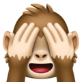 See-No-Evil Monkey on Facebook 4.0