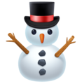 Snowman Without Snow on Facebook 4.0