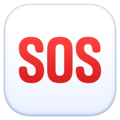 SOS Button on Facebook 4.0