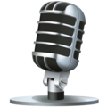 Studio Microphone on Facebook 4.0