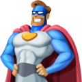Superhero: Medium Skin Tone on Facebook 4.0