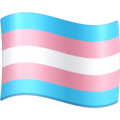 Transgender Flag on Facebook 4.0