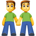 Men Holding Hands on Facebook 4.0