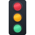 Vertical Traffic Light on Facebook 4.0