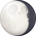 Waning Gibbous Moon on Facebook 4.0