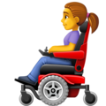 Woman in Motorized Wheelchair on Facebook 4.0